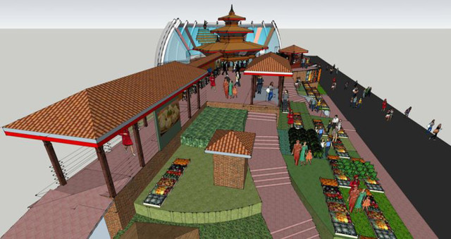Expo 2015 Padiglione Nepal-3