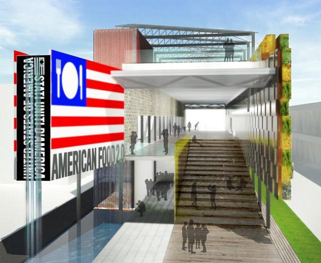 Expo 2015 Padiglione Stati Uniti