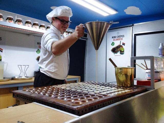Expo 2015 Street food mini pancake olandesi