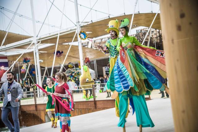 Expo 2015 circo Barnum