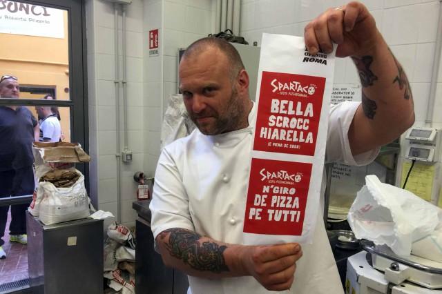Gabriele Bonci nuova pizzeria Spartaco