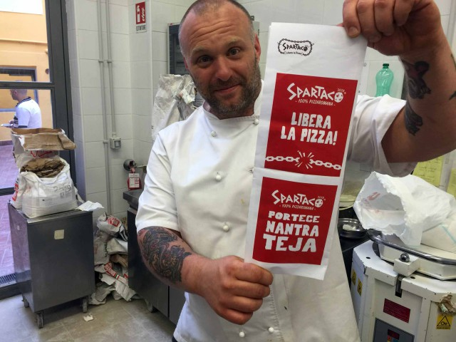 Gabriele Bonci pizza Spartaco