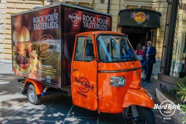 Hard Rock Café World Burger Tour 5