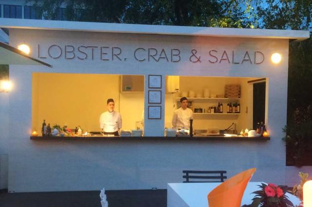 Lobster Crab & Salad