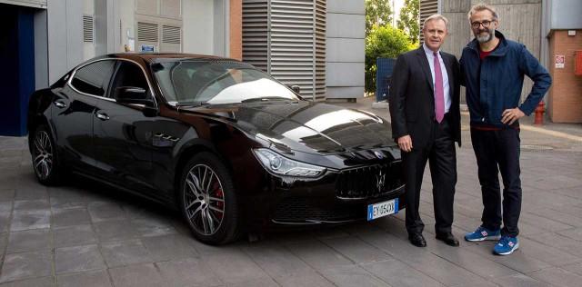 Maserati_Massimo-Bottura-Chef-3-stelle-Michlin-e-Harald-Wester-CEO-Maserati_