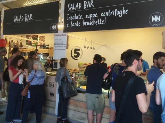 Mercato Metropolitano Salad bar