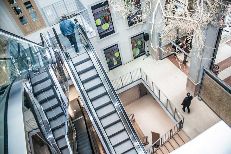 Mercato del Duomo scale mobili