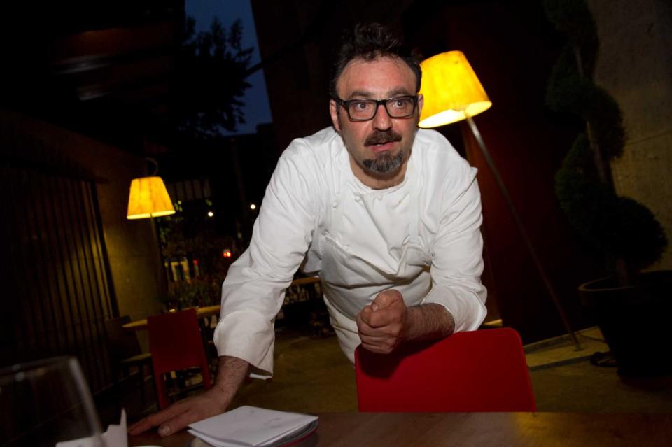 Paolo LoPriore Tre Cristi aperitivo