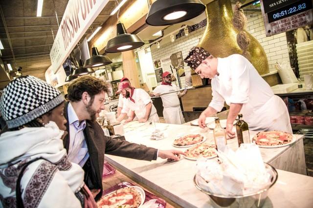 Rossopomodoro Expo pizza