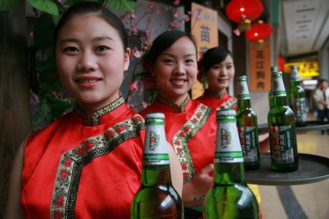 Snow birra Cina