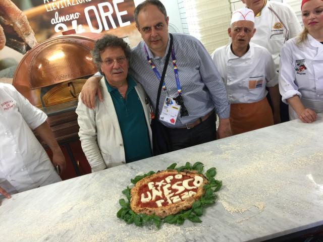 Pizza Expo Unesco