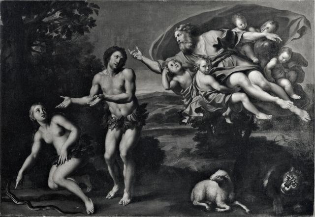la Cacciata di Adamo ed Eva dal Paradiso Terrestre