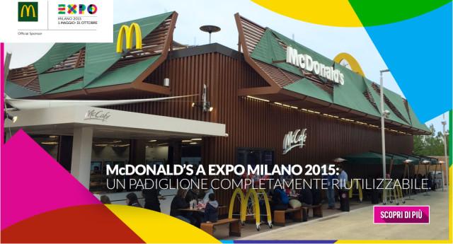 mcdonald's expo 2015