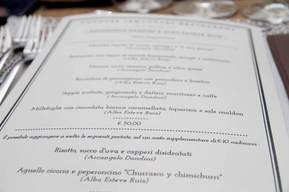 menu Cohouse Pigneto