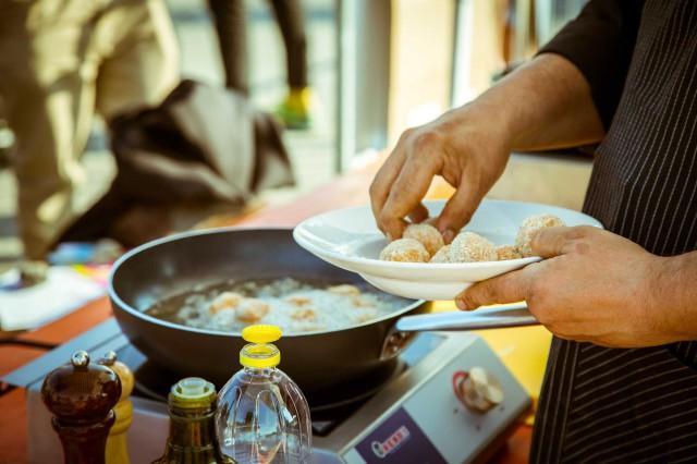 street food frittura