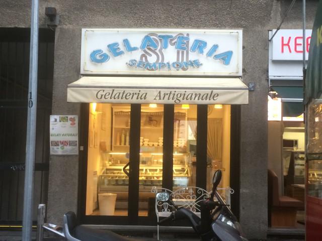 gelateria sempione milano