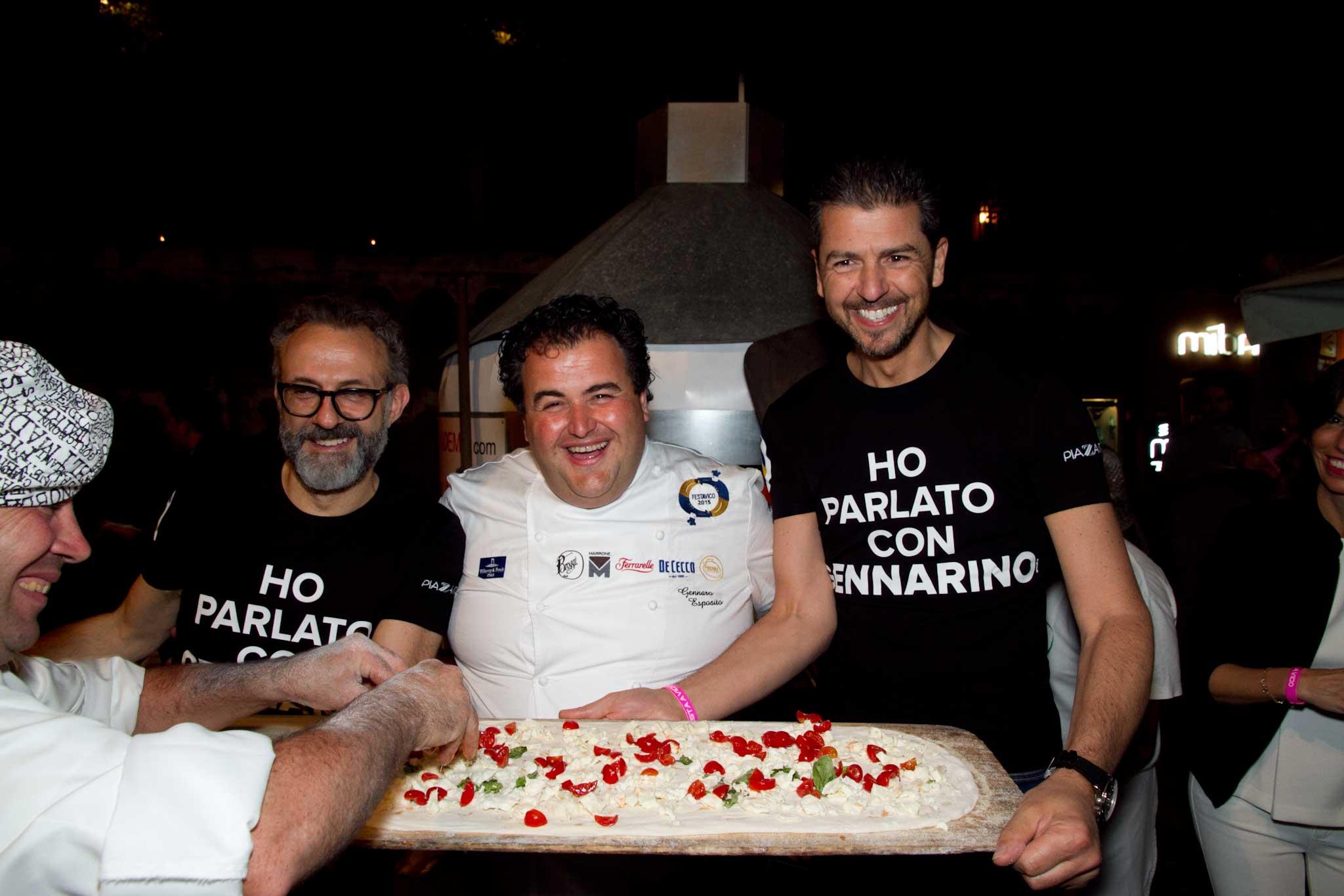 Bottura Esposito Berton pizza a metro