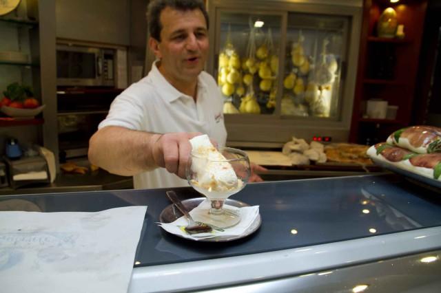 Cremeria Gabriele gelato sfogliatella