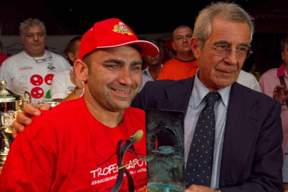 Davide Civitiello campione mondiale pizza