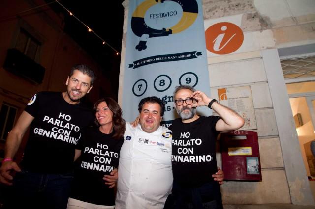 Festa a Vico 2015 chef Bottura Berton Esposito