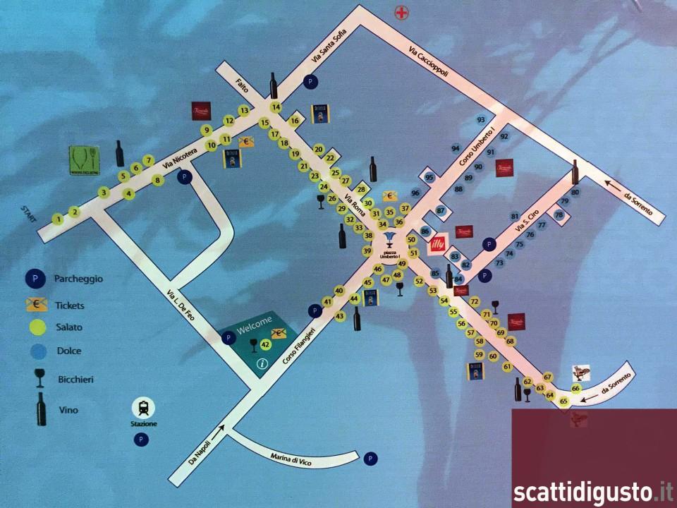 Festa a Vico 2015 mappa Scatti di Gusto