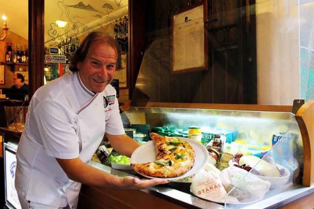 Gennaro Luciano pizzaiolo