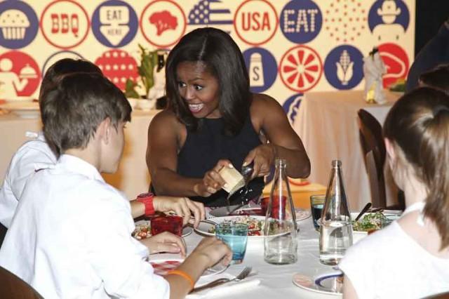 Grana Padano Michelle Obama
