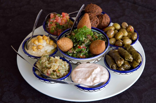 Jerusalem Mezza platter