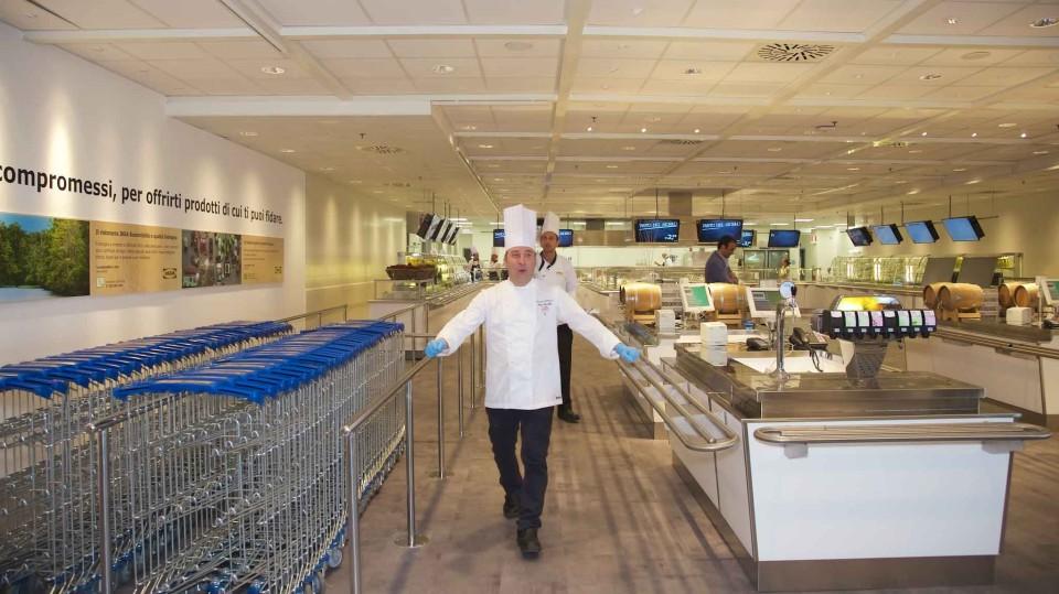 Ikea punta sul food e apre un nuovo ristorante a napoli for Ikea programma per arredare
