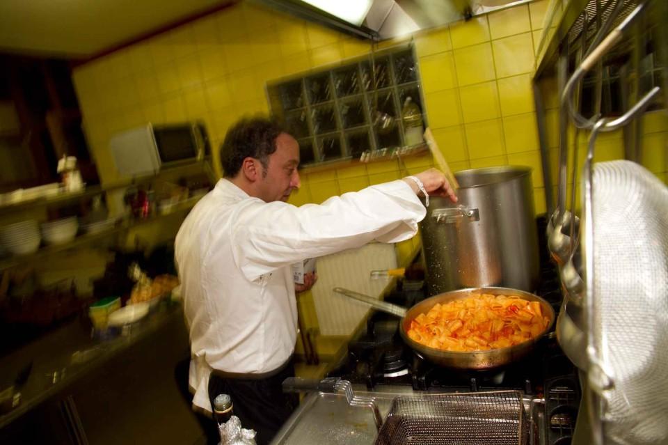 Lino Scarallo in azione