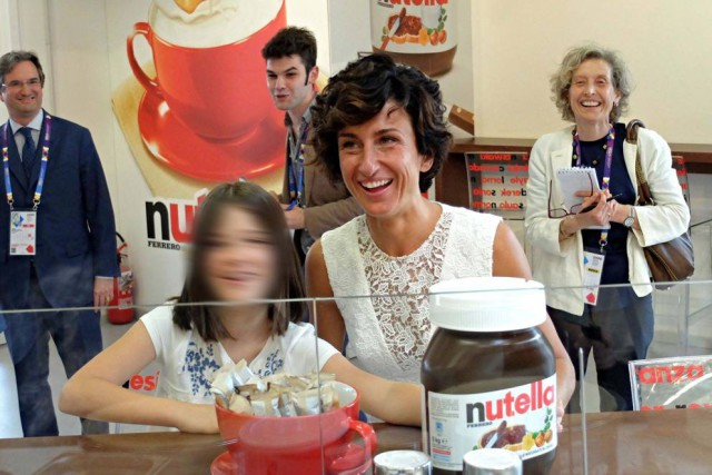 Nutella moglie Renzi