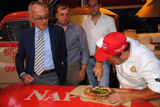 Sangiovanni e la pizza