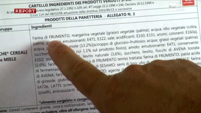 lista ingredienti cornetti