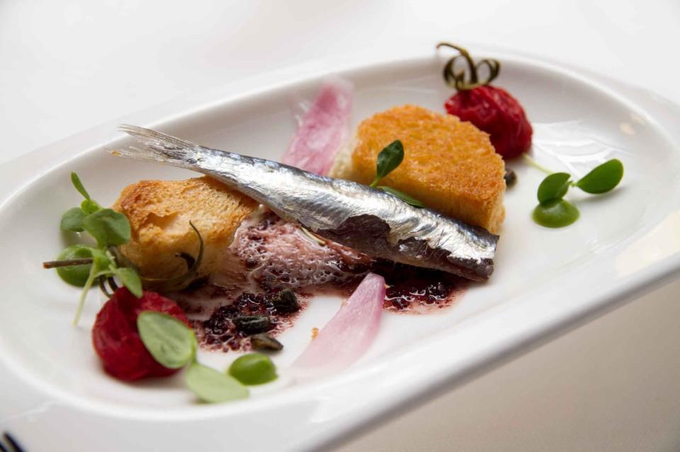pesce azzurro marinato
