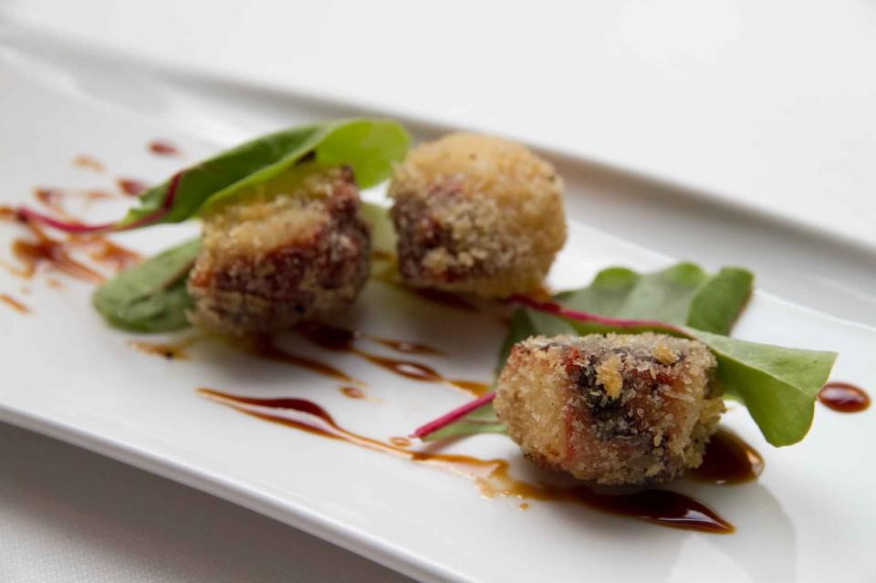 polpo in tempura di pane