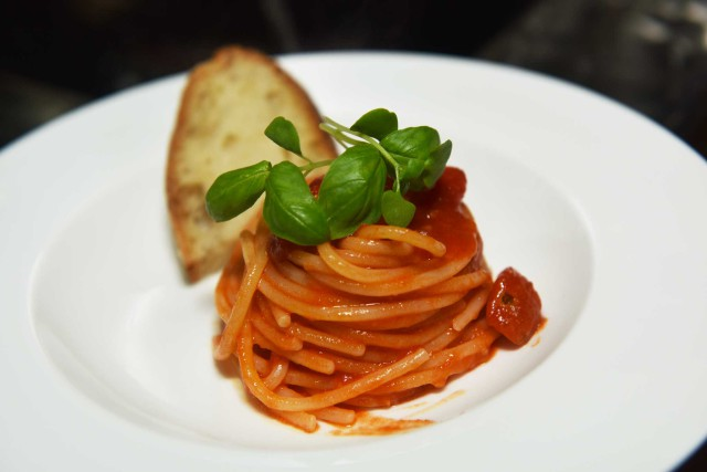 spaghetti ai 5 pomodori