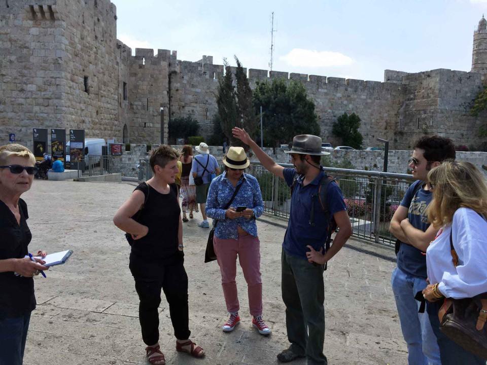 Dado guida Gerusalemme