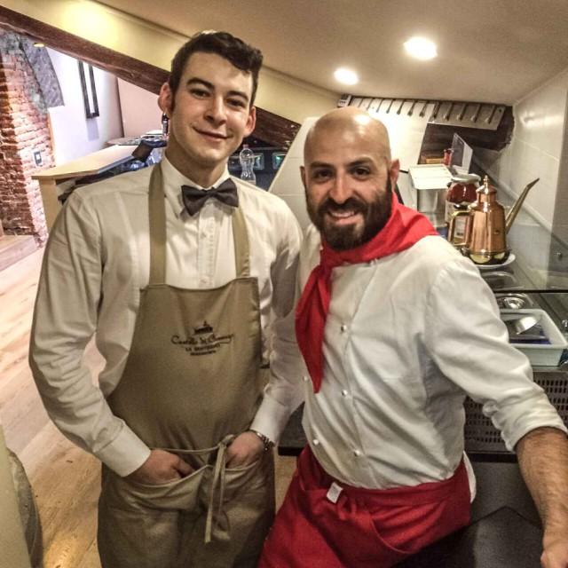 Daniele Falcone pizzaiolo