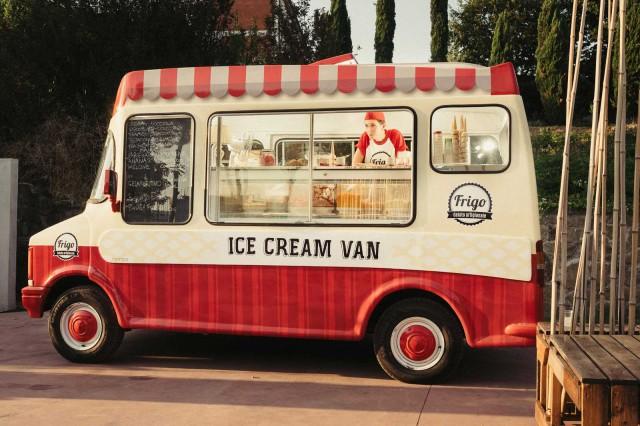 Frigo food truck gelato