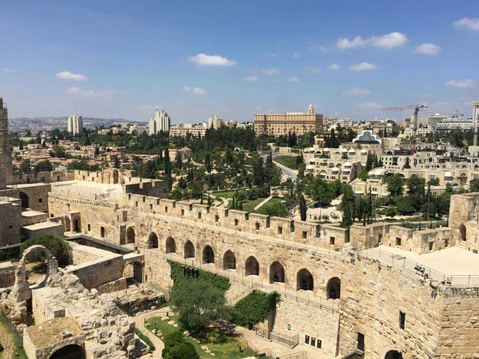 Gerusalemme dalla Torre di Davide