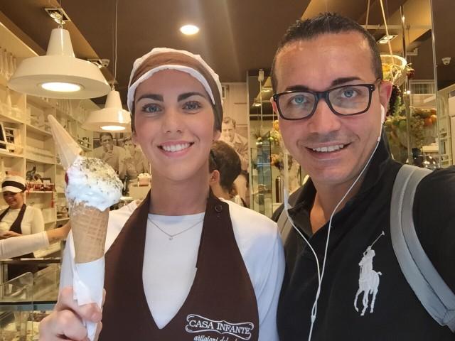 Gino Sorbillo gelato Pizza