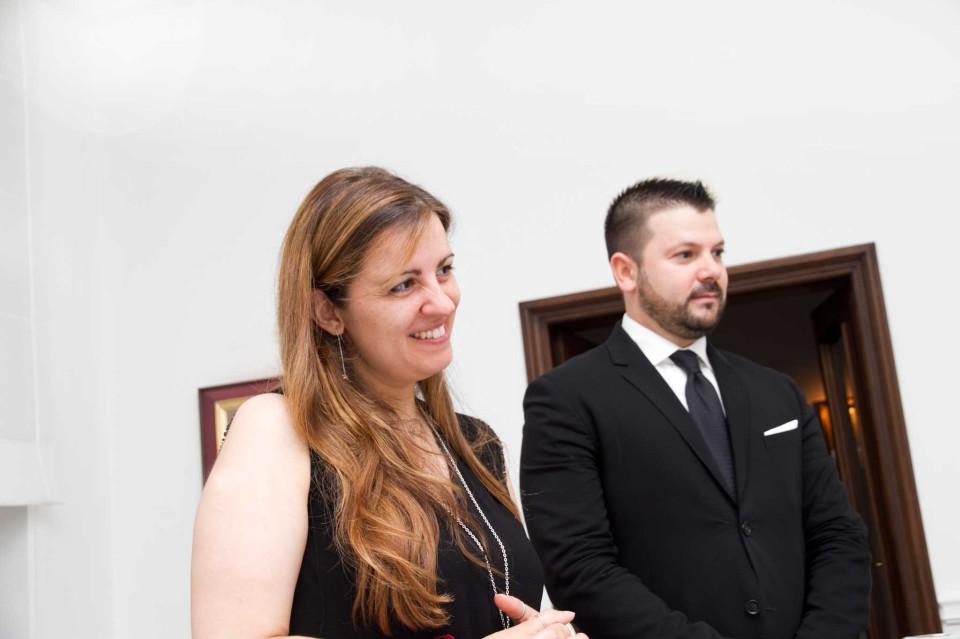 Giulia Rossano e Lucio D'Orsi