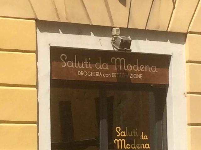 Saluti da Modena Milano