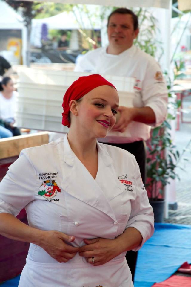 Teresa Iorio pizzaiola