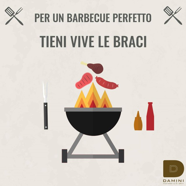 barbecue perfetto brace
