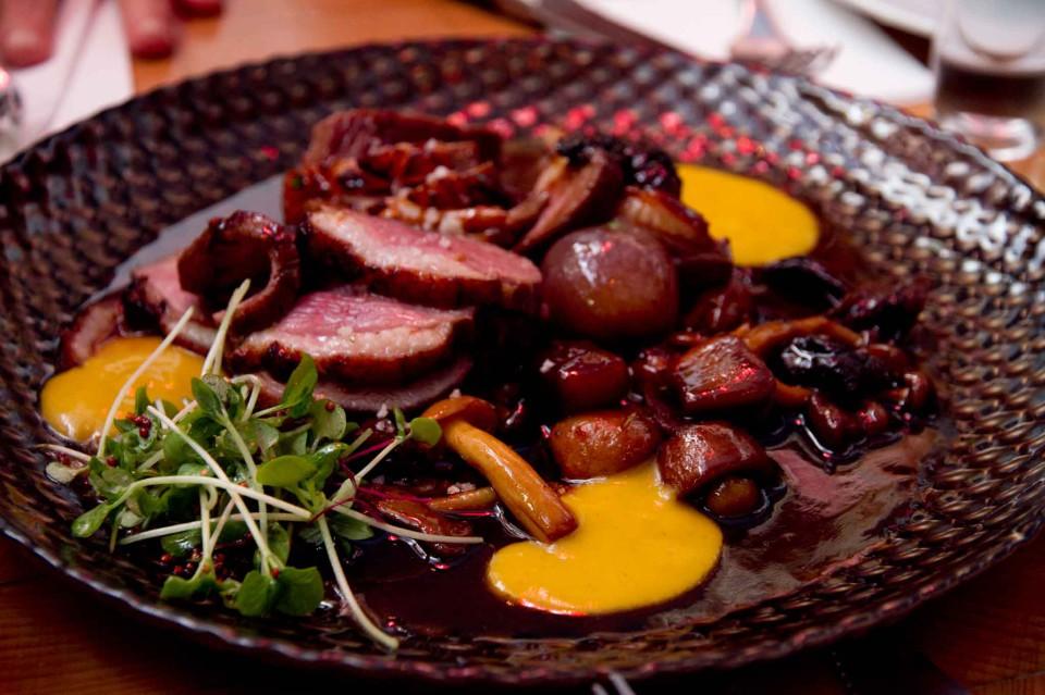 carne e funghi