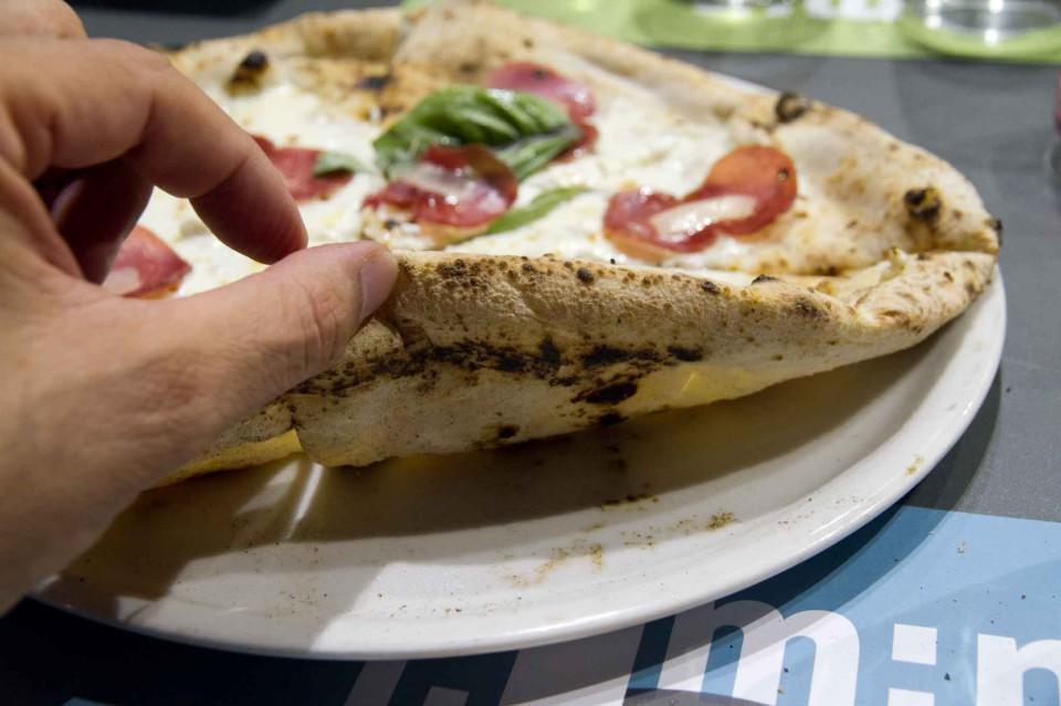 cottura pizza Cilento