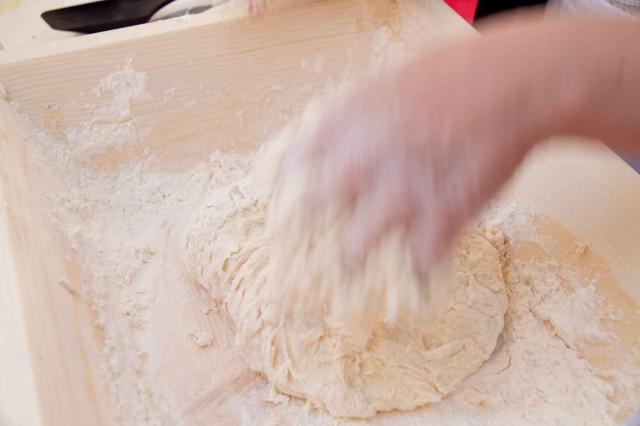farina impasto pizza