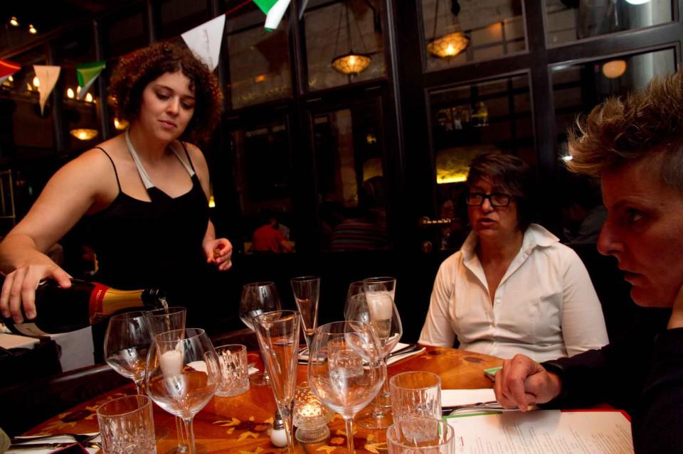 il tavolo italiano all'Adom