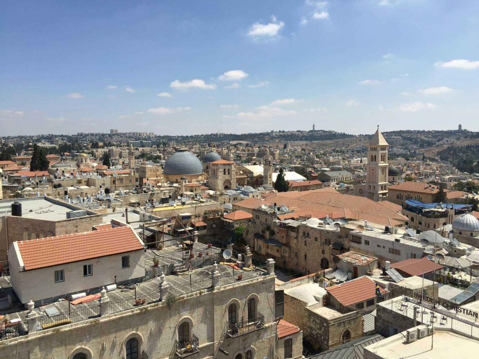 panorama Gerusalemme